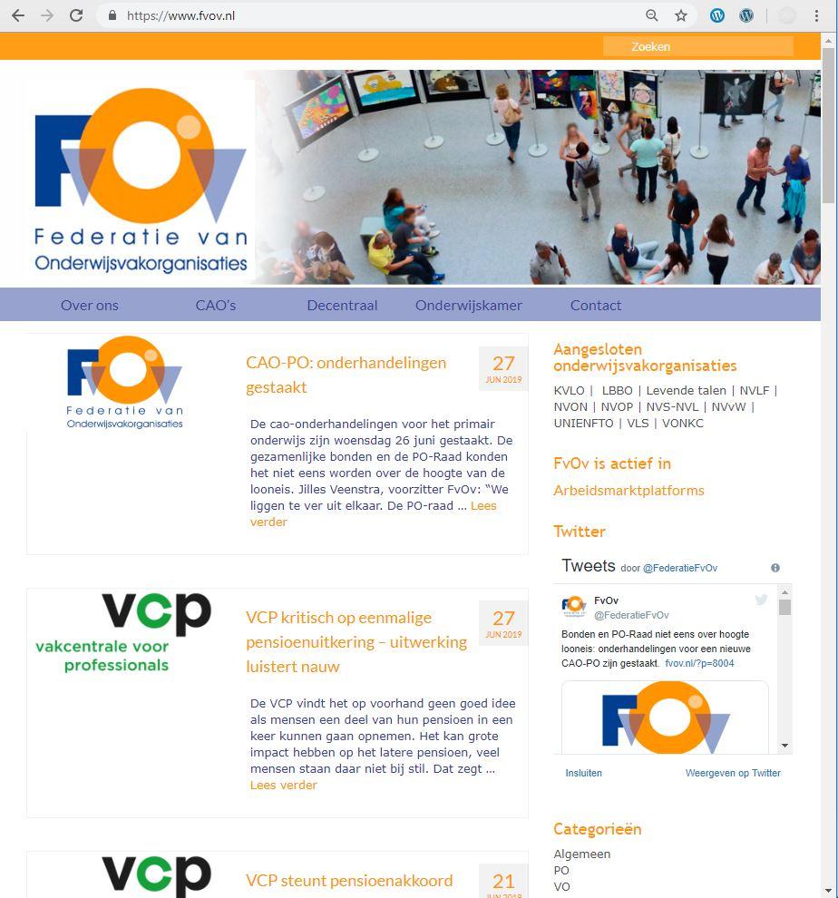 website fvov