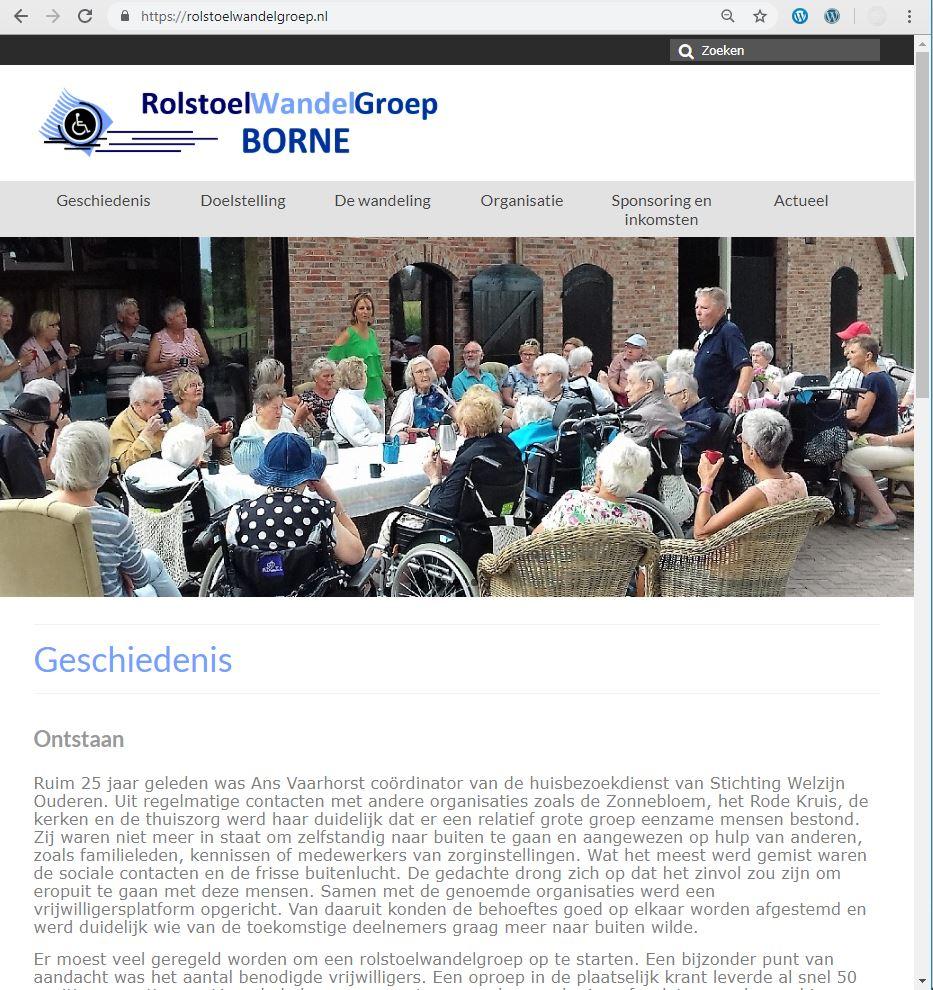 rolstoelwandelgroep-website